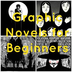 Graphic Novels for Beginners - although the books listed may be more appropriate for teens and older