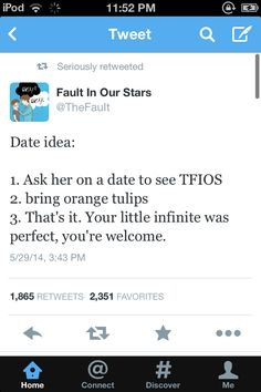 If someone did this for me I can almost garuntee a second date. No, I 100% garuntee a second date.