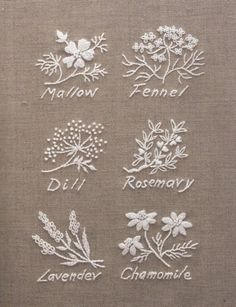 Wonderful Ribbon Embroidery Flowers by Hand Ideas. Enchanting Ribbon Embroidery Flowers by Hand Ideas. Herb Embroidery, Japanese Embroidery, Hand Embroidery Stitches, Ribbon Embroidery, Cross Stitch Embroidery, Hand Stitching, Machine Embroidery, Embroidery Sampler, Embroidery Letters