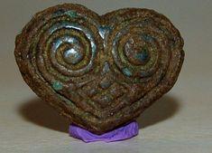 Baltic viking 'owl' belt applique