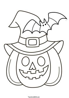 Free Halloween Pumpkin Color by Number/Letter for Preschool Halloween Coloring Pages Printable, Free Halloween Coloring Pages, Halloween Worksheets, Fall Coloring Pages, Halloween Activities For Kids, Fun Activities, Halloween Theme Preschool, Easy Halloween Decorations, Easy Halloween Crafts