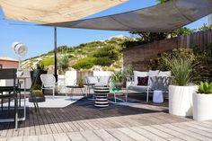 Belle Terrasse des Goudes à Marseille par @GoodDesignstore @CotéJardinCotéTerrasse @Archik