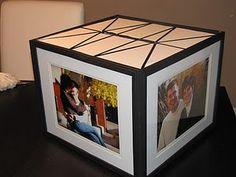 Cute idea for a gift card box!
