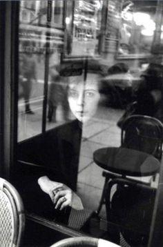 Le café 'La Tartine', Paris c.1980 by Édouard Boubat.