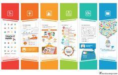 [Infographic] 국제관광전의 한국관광공사 홍보관_'Touch it Paper' 홍보 배너 작업