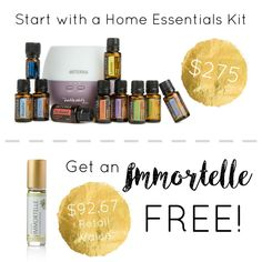 doterra june promotion graphic free immortelle