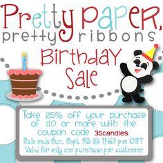 Birthday SALE!!!!!