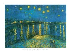 """""""Print of La Nuit etoilee"""" - Van Gogh posters and prints available at Barewalls.com"""