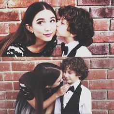 Rowan Blanchard and August Maturo    See Your Fave Disney Channel Stars' Magical Black and White Ball Styles   Twist