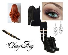 """""""Clary Fray"""" by divaldez on Polyvore"""
