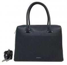 Henkeltasche dunkelblau Leder Gigi Fratelli Business Damen - Bags & more Crossover, Fashion, Dark Blue, Darkness, Sachets, Shoulder, Leather, Audio Crossover, Moda