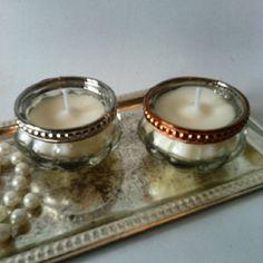 Pack de velas vintage de cera de soja