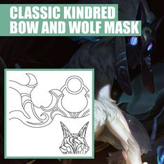 Jaina proudmoore heroes of the storm pattern free download classic kindred bow and wolf mask weapon prop blueprint pattern fandeluxe Gallery