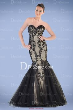 Exquisite Sweetheart Mermaid Prom Gown Featuring Lace Overlay and Scalloped Hem, Quality Unique Prom Dresses Unique Prom Dresses, Strapless Dress Formal, Formal Dresses, Mermaid Gown Prom, Masquerade Party, Prom Ideas, Scalloped Hem, Lace Overlay, Ball Gowns