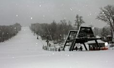 The Snow is Falling and Conditions are Great at Roundtop Mountain Resort!