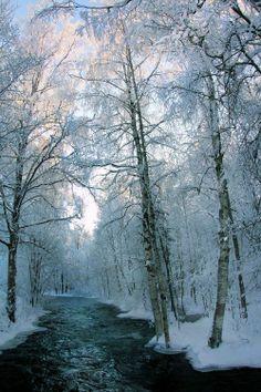 Snow River, Finland