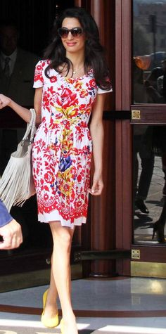 11 Chic Amal Clooney Looks to Inspire Your Work Wardrobe - September 8, 2014 from #InStyle