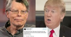 #World #News  38 times Stephen King absolutely slammed Donald Trump on Twitter  #StopRussianAggression #lbloggers @thebloggerspost