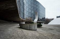 Jean Prouvé et Oscar Niemeyer, Siège du Parti Communiste Français, Paris, 1965-1980 © ADAGP, Paris 2017 / photo : August Fisher