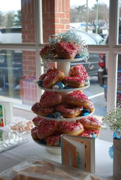 I will pay for your entire wedding if you have a Donut Tower...