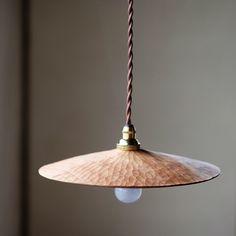 Wooden lamp by Hiroyuki Watanabe