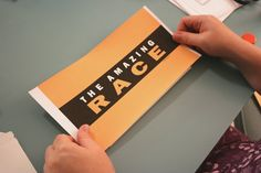 amazing race party