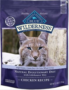 Blue Buffalo Wilderness Grain Free Chicken Recipe Dry Cat Food   Cat   Food   PetFlow