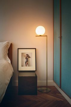 IC Lights F floor lamp from #FLOS, available at Nest.co.uk