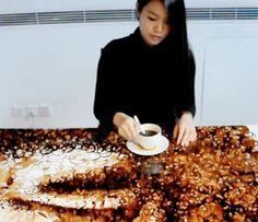 Hong Yi et ses taches de café