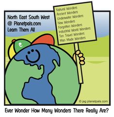 7 Wonders of the World. Natural Wonders, Man Made Wonders, Ancient Wonders, New WondersUnderwater Wonders New Wonders Forgotten Wonders Wonders of Industrial World Ten Travel Wonders Wonder Man, Natural Wonders, Teacher Pay Teachers, Wonders Of The World, Back To School, Fun Facts, Homeschool, Earth, Content