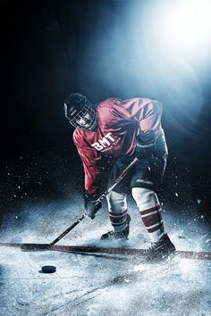 500px / Ice Hockey Action by Mario Kantor