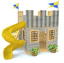 Childrens Playhouse Plans 380554237265281291 - Fun Fortress Playhouse Plan for Kids – Paul's Playhouses Source by sonjasafar Castle Playhouse, Backyard Playhouse, Playhouse Plans, Cedar Playhouse, Childrens Playhouse, Backyard Playset, Pallet Playhouse, Backyard Playground, Backyard For Kids