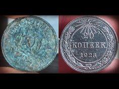 Чистка серебра. Простой способ! Как очистить старинные серебряные монеты! - YouTube