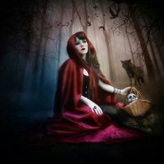 """""""Red Riding Hood"""" manipulation done by me."""