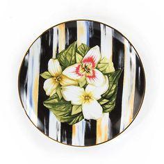 Thistle & Bee Salad Plate - Trillium