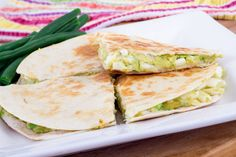 -*+Enjoy these delicious avocado quesadillas that work perfect for Phase 3 of The fast Metabolism Diet.