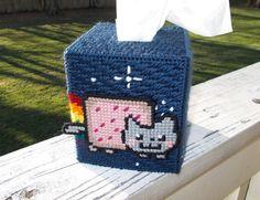 Nyan Cat Tissue Box Cover