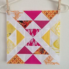 Stacked pyramids for @craftyjennifer - 2 blocks left to go… | Flickr