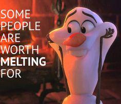 We <3 Olaf