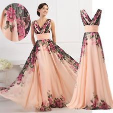 50s 60s Style Vintage Sexy Maxi Wedding Gown Evening Long Prom Bridesmaid Dress