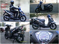Suzuki Address 110 Fi, ternyata masih memiliki penggemar tersendiri!! Meskipun diterjang badai Skutik ATPM Raksasa | Potret Bikers.com