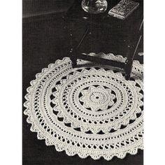 Doily Rug Crochet Pdf Pattern