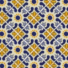 Seamless Pattern With Portuguese Tiles In Talavera Style Azulejo Moroccan Mexican Ornaments