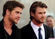 Hemsworth brothers.
