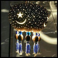 Turkey gourd lamp | SU KABAK ABAJUR, DEKORATİF LAMBA, GOURD LAMP