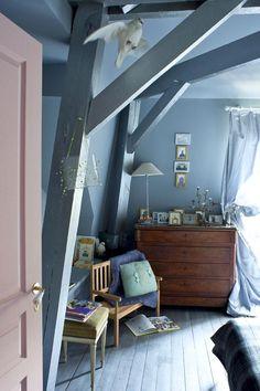Dinlendirici ve huzur verici etkisiyle maviyi yatak odalarının vazgeçilmezi #jotun #mavi