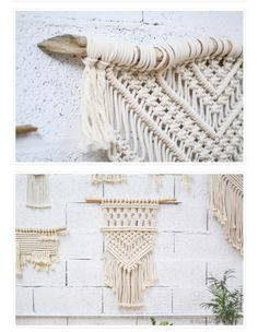 A new addiction, Macrame – macramé pas démodé