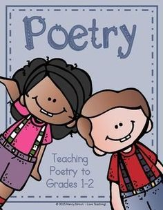 Poetry! I love teaching poetry and this unit breaks it all down for 1-2nd Grade students. I have included pictures of my anchor charts and examples of each kind of poem. Included in this unit:PostersPictures of anchor chartsexamplesbrainstorming activities The types of poetry included are Color Poem(3 versions), Acrostic Poem(1 for each season plus a blank one), Parts of Speech Poem, and a Couplet Poem