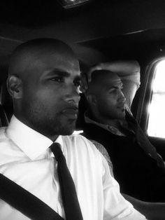 Boris Kodjoe and his brother Patrick....wow!....two of 'em! : )