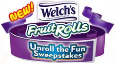 WELCH'S Fruit Rolls Unroll The Fun Instant Win Game and Sweepstakes on http://hunt4freebies.com
